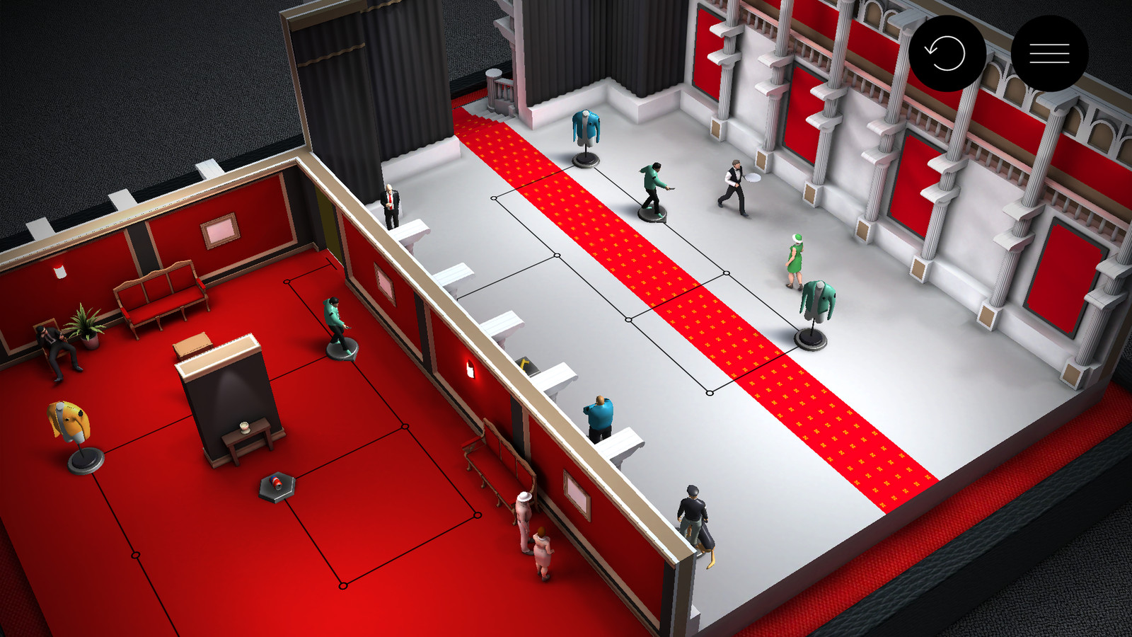 Hitman Go Brings Its Board Game Assassinations To