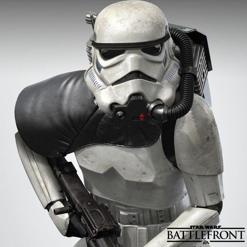 Star Wars Battlefront storm trooper image