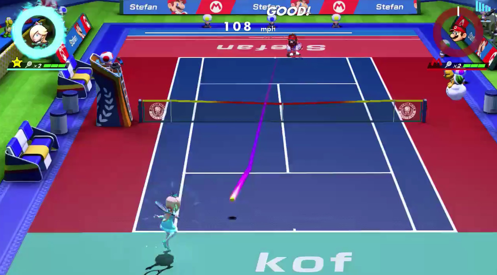 Nintendos Mario Tennis Aces Demo Is Crazy Addictive Switch English Us Games