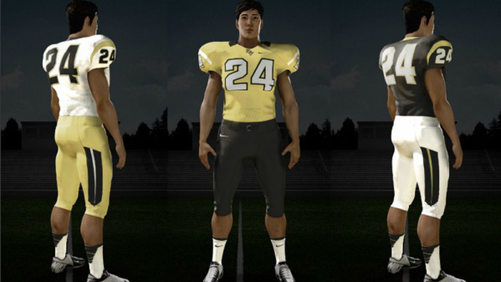 2013 Ucf Getting New Football Uniforms As Modeled By The
