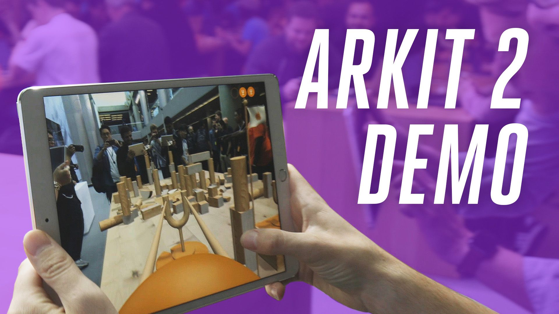 Apple's ARKit 2 0 supports multiplayer and introduces a new