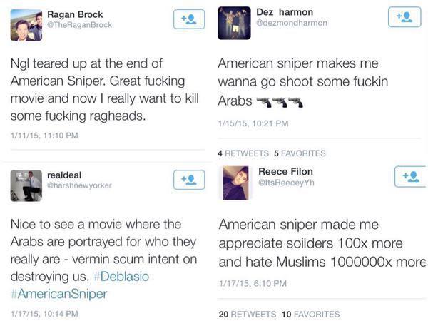 American Sniper Tweets