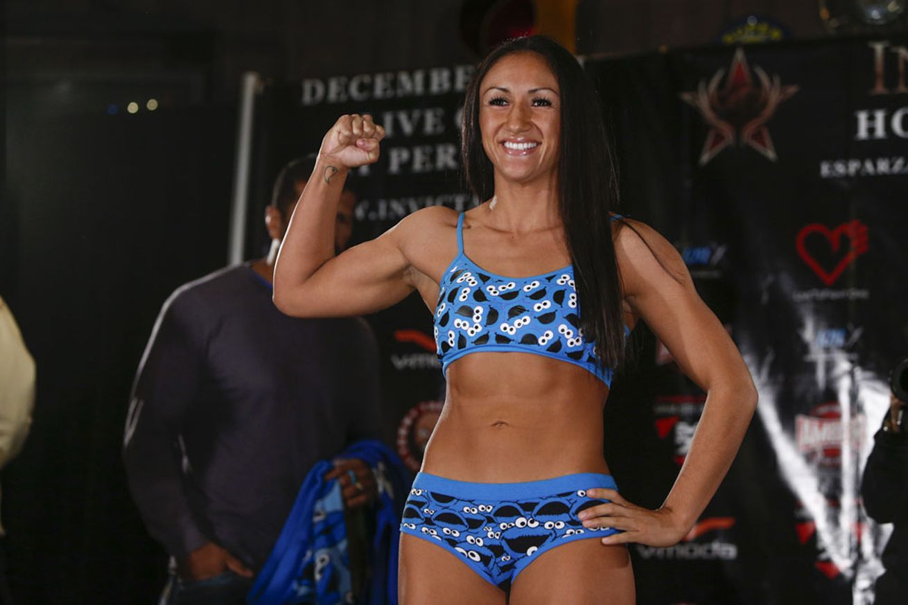 community news, Carla Esparza steps in for Jessica Aguilar, faces Julianna Lima at UFC 197