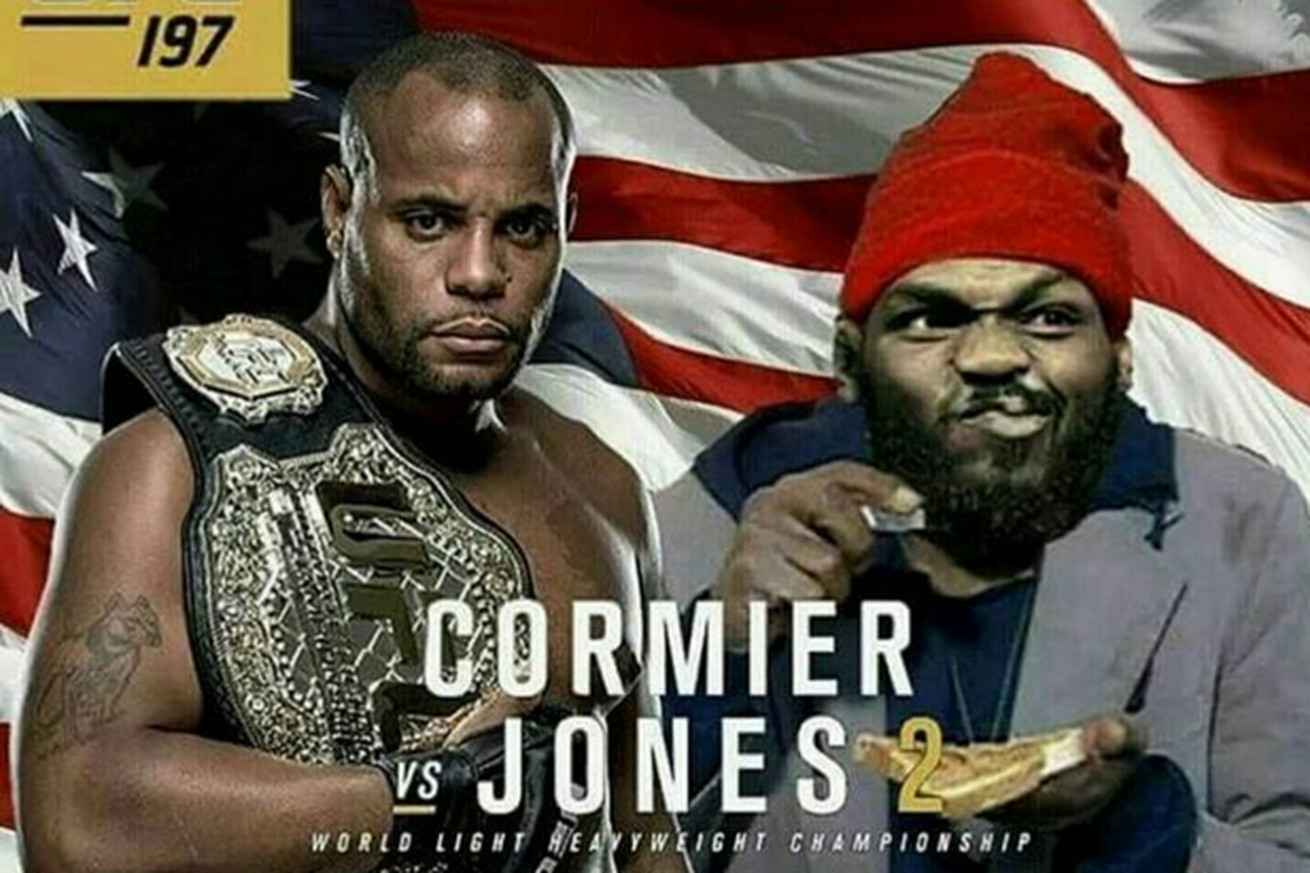 community news, UFC 197: Check out these pics as Daniel Cormier and Jon Jones get into hilarious Photoshop war