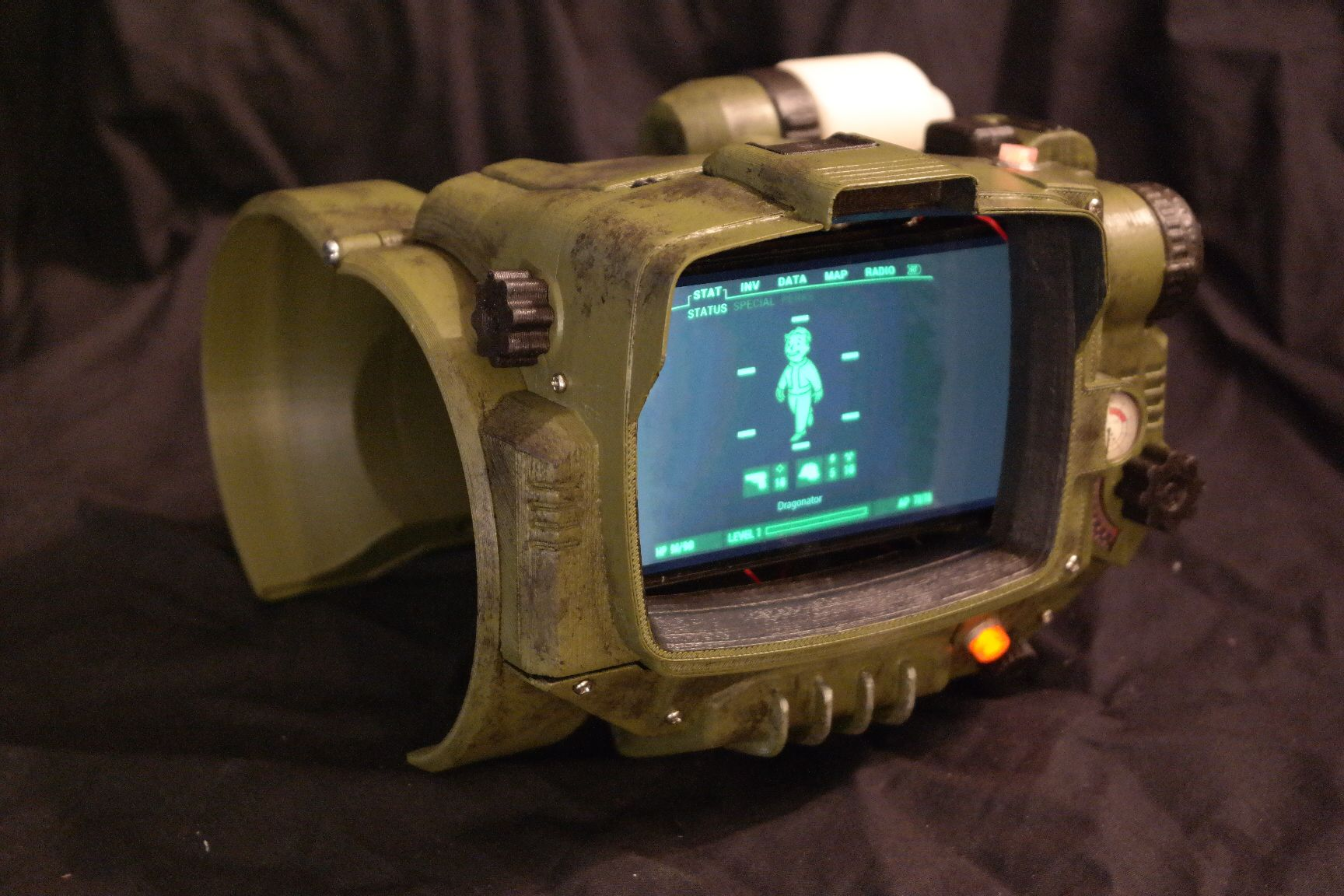 abstract fallout pip boy - photo #13
