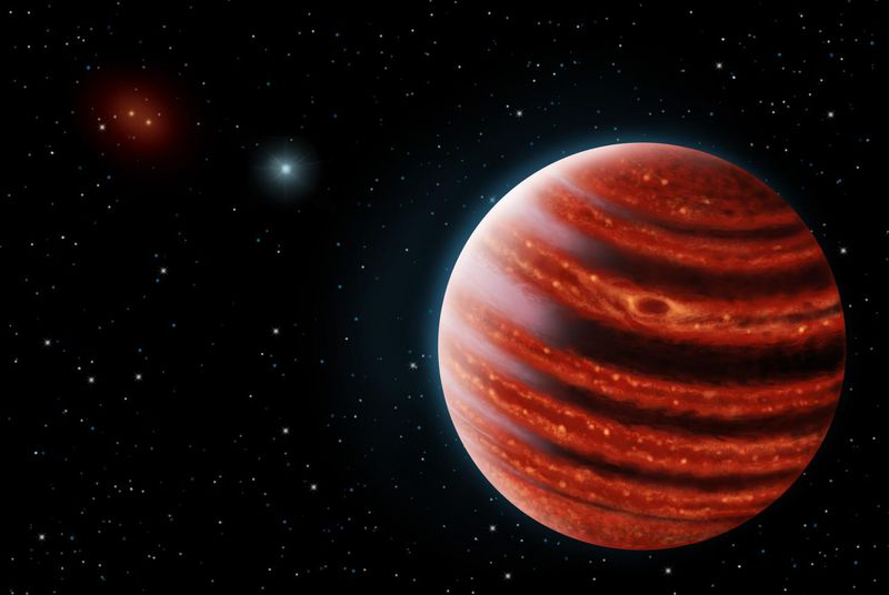 This Jupiter-like gas giant could show us how planets form ...