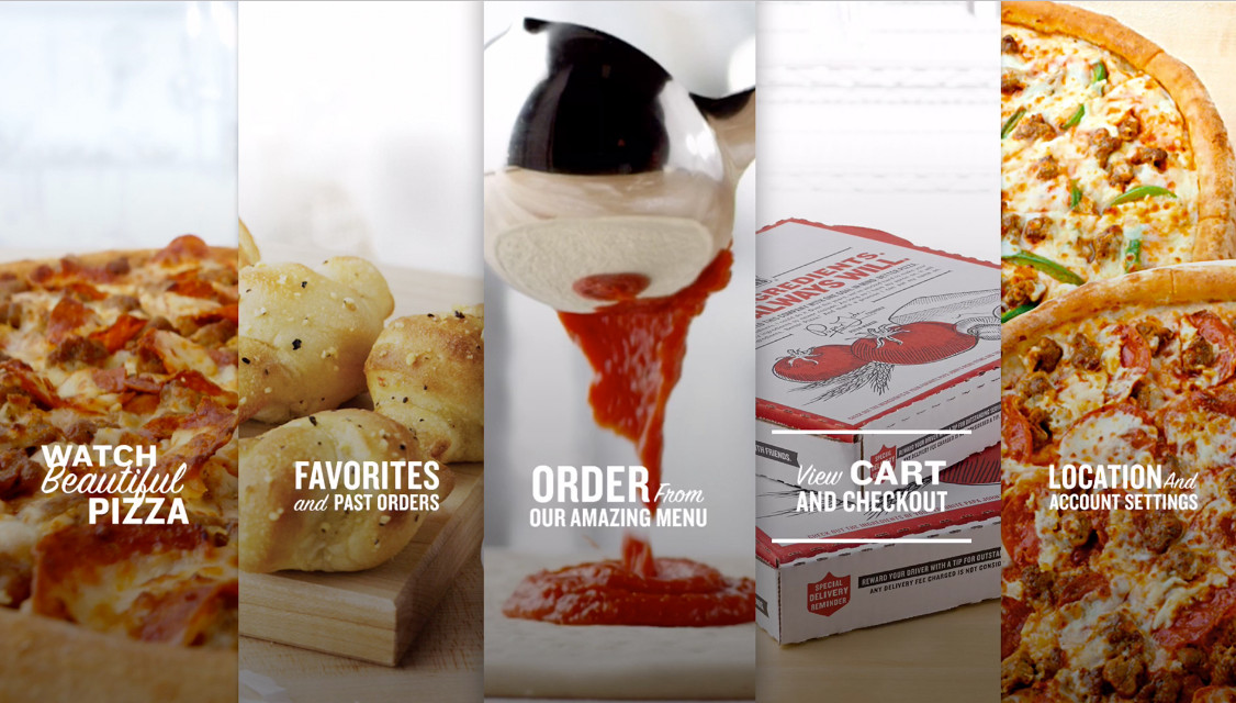 Papa Johns creates pizza-ordering app for Apple TV