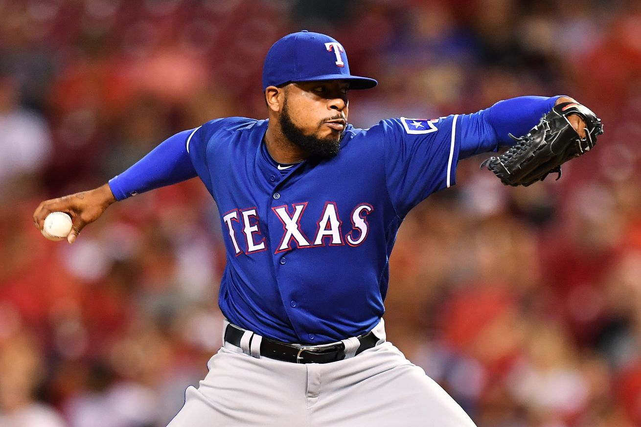 Rangers reliever Jeremy Jeffress charged with DWI in Dallas