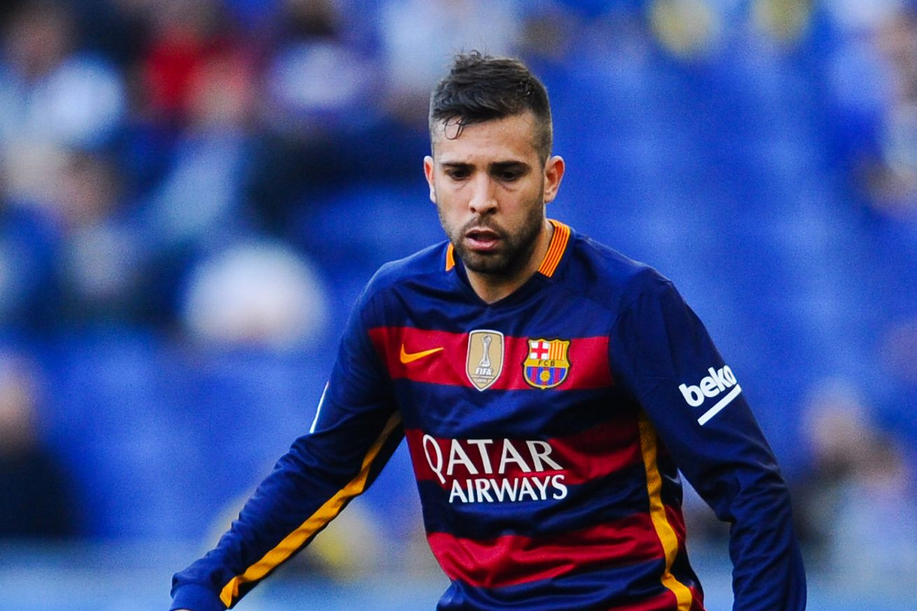 fc barcelona news 29 march 2016 jordi alba expected to