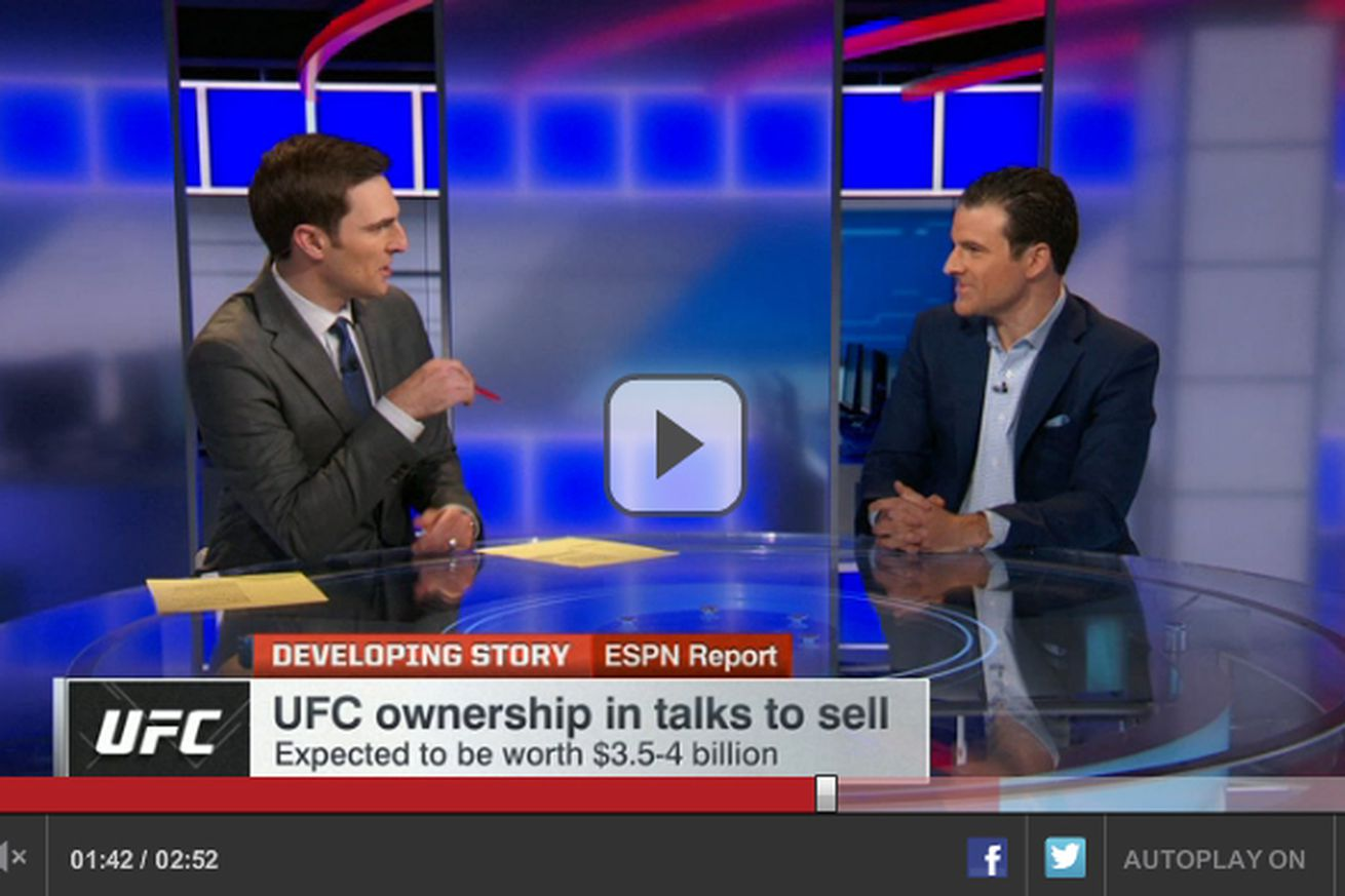 Who is buying UFC? ESPN video sheds light on financial superpowers eyeing MMA giant
