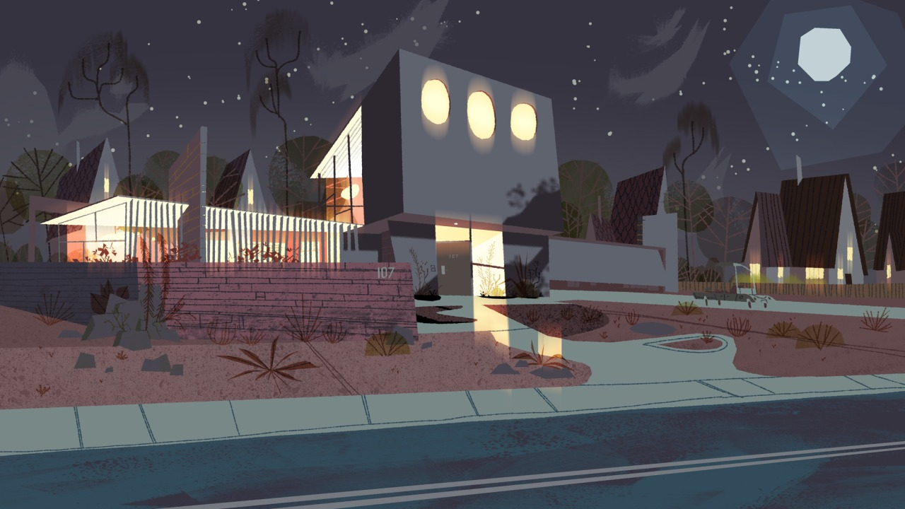 Kevin Dart Blends Modern Sci Fi With Classic 60s Style