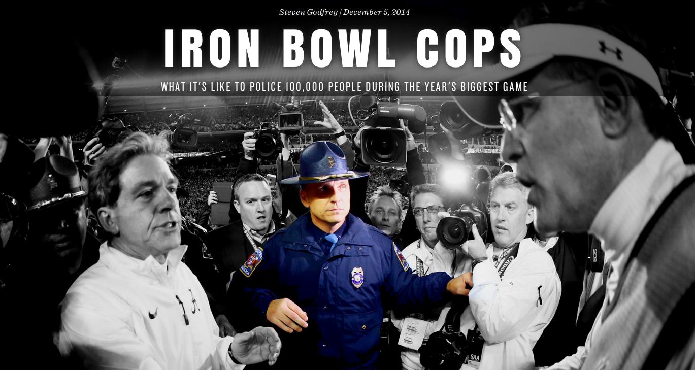 Iron Bowl cops - SBNation com