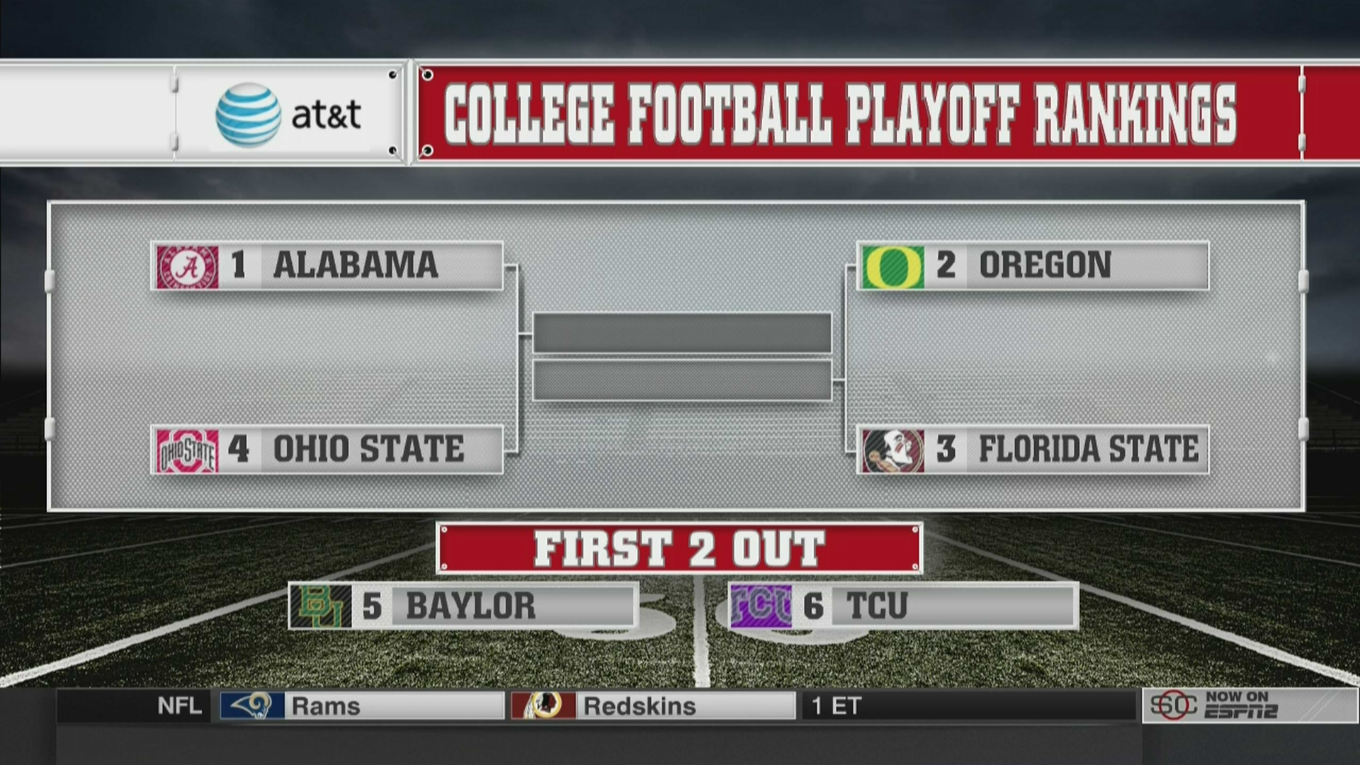 college football playoff games espn scedule