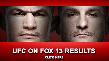 UFC on FOX 13 Results
