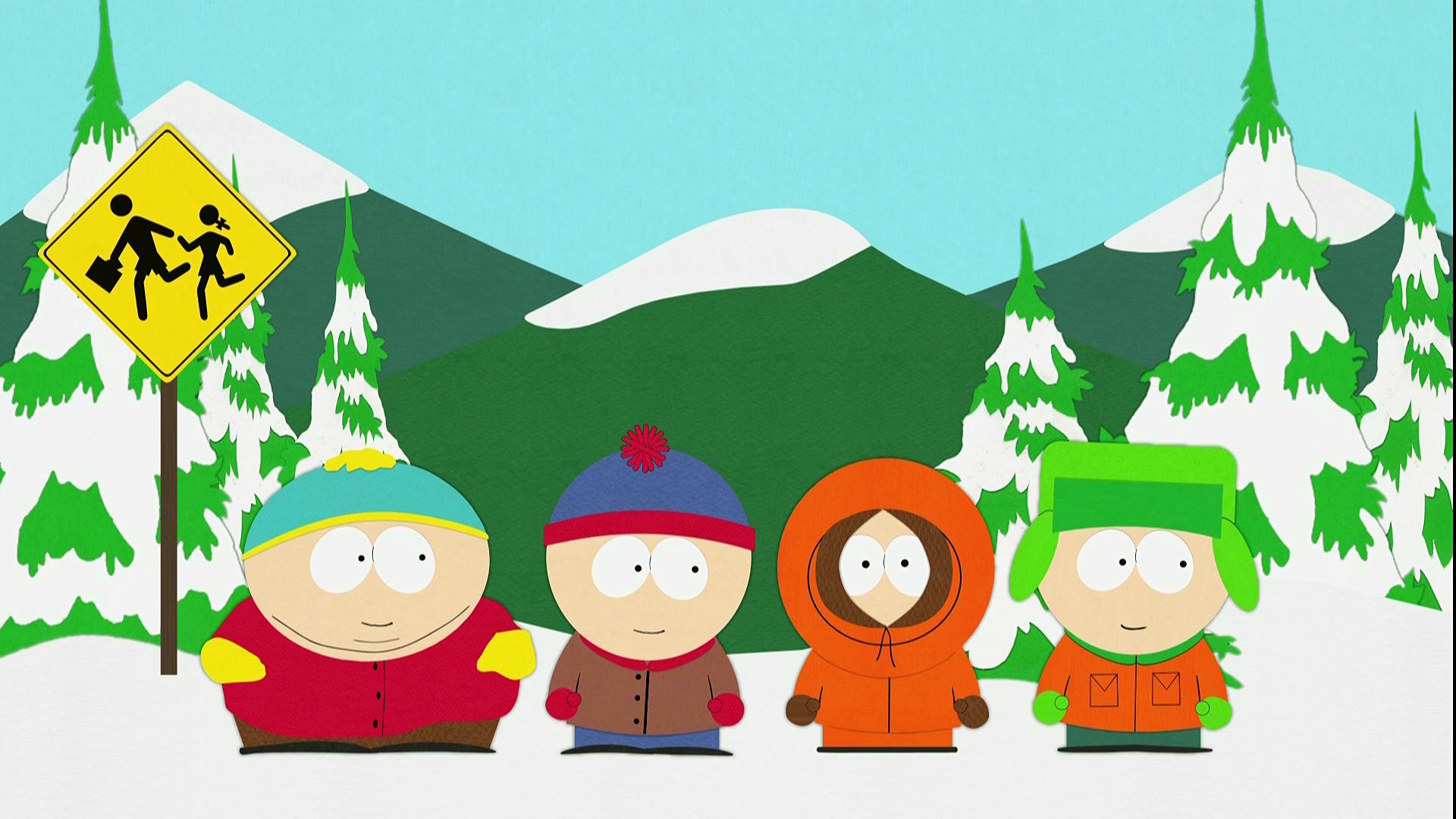South Park l'adolescent simpsons