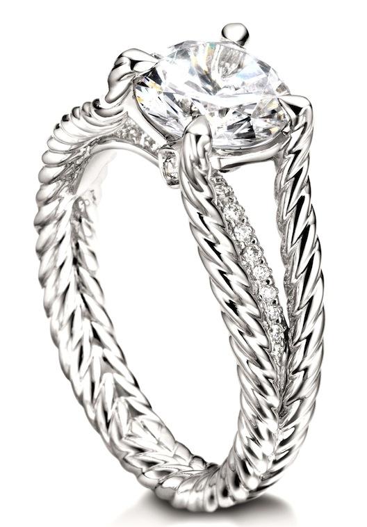 7 Giant Diamond Engagement Rings to Ogle from David Yurman Racked