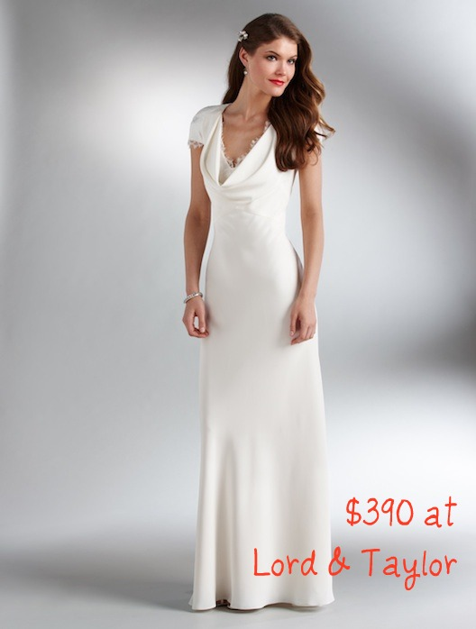 f9782ff6286 the abs allen schwartz version of kate middletons evening reception dress  will retail for about 450