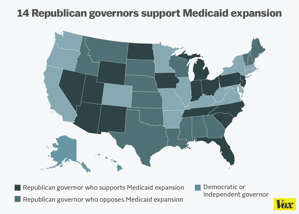 obamacare medicaid Politics red-state voters look to expand medicaid this fall, despite trump's enduring hostility to obamacare.