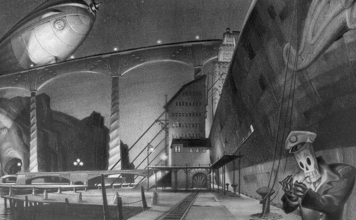 Digital archaeology: How Double Fine, Disney, LucasFilm and Sony resurrected Grim Fandango