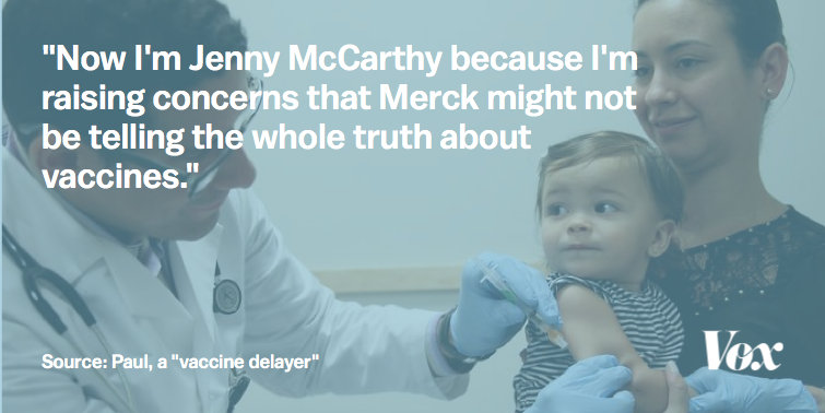 Nine Out Of Ten Anti Vaxxers Agree We Are Smarter Than >> The Vaccine Delayers Vox