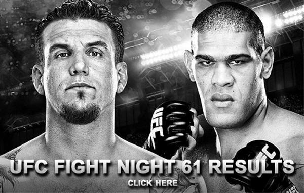 UFC Fight Night 61 Results