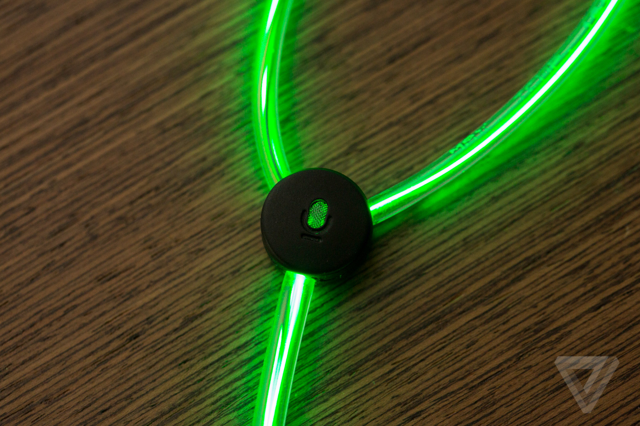 up close with glow s crazy laser light earbuds the verge