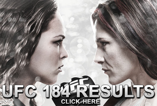 UFC 184 Results