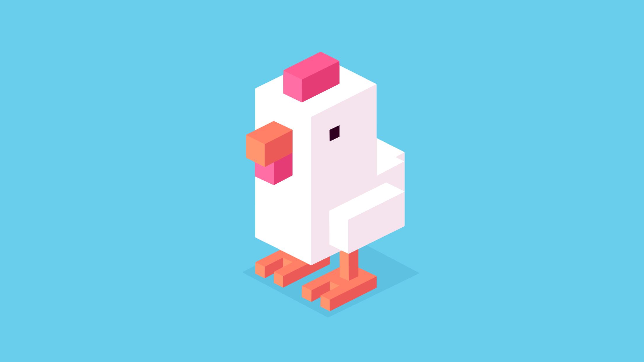Crossy Road chicken