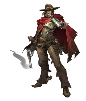 Overwatch Introduces Two New Characters Gunslinger McCree