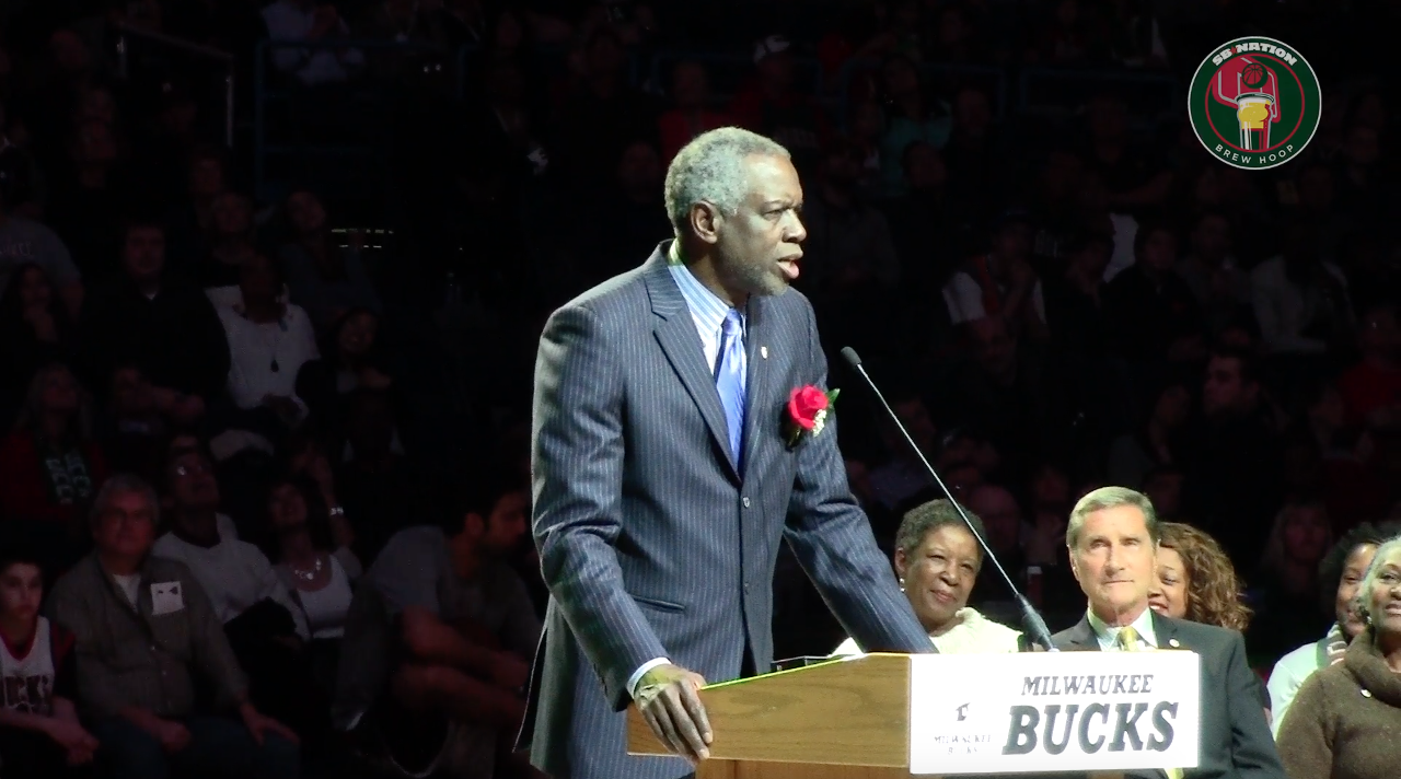 VIDEO Bucks retire All Star Bob Dandridge s No 10 jersey Brew Hoop