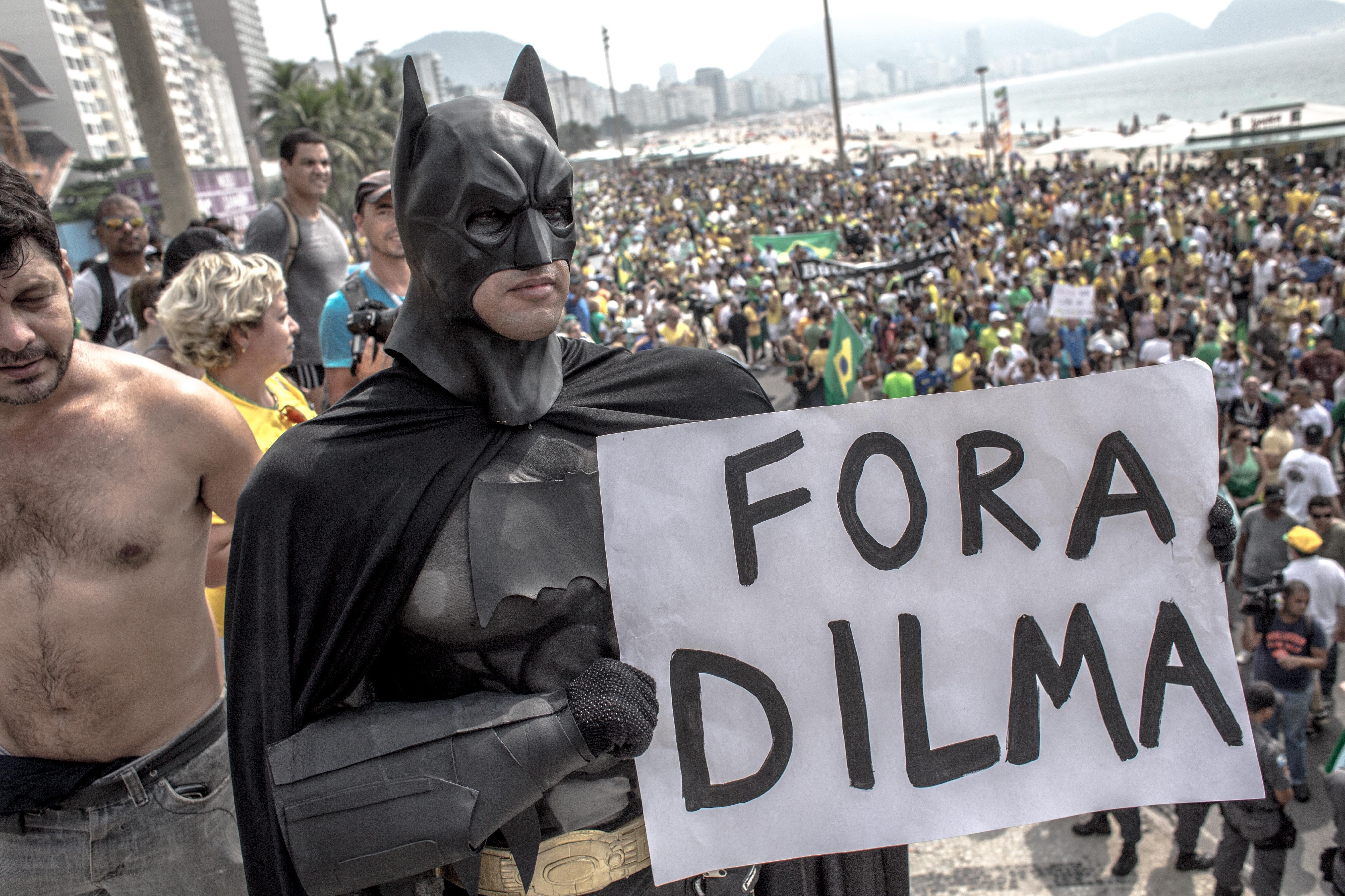 It's sort of like that. Brazilians get their wish, the Americans are coming to help capture one of... [+] the bad guys that stole millions from state run old firm Petrobras.