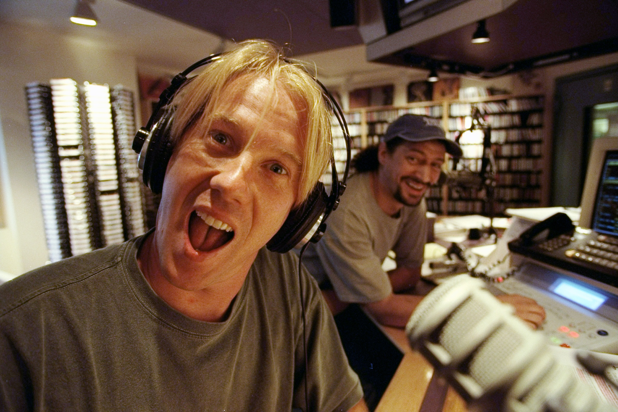 Spoiler: This wacky photo was taken in 2000, which lets you know that Opie and Anthony survived the scandal. (New York Daily News Archive/Contributor/Getty Images)