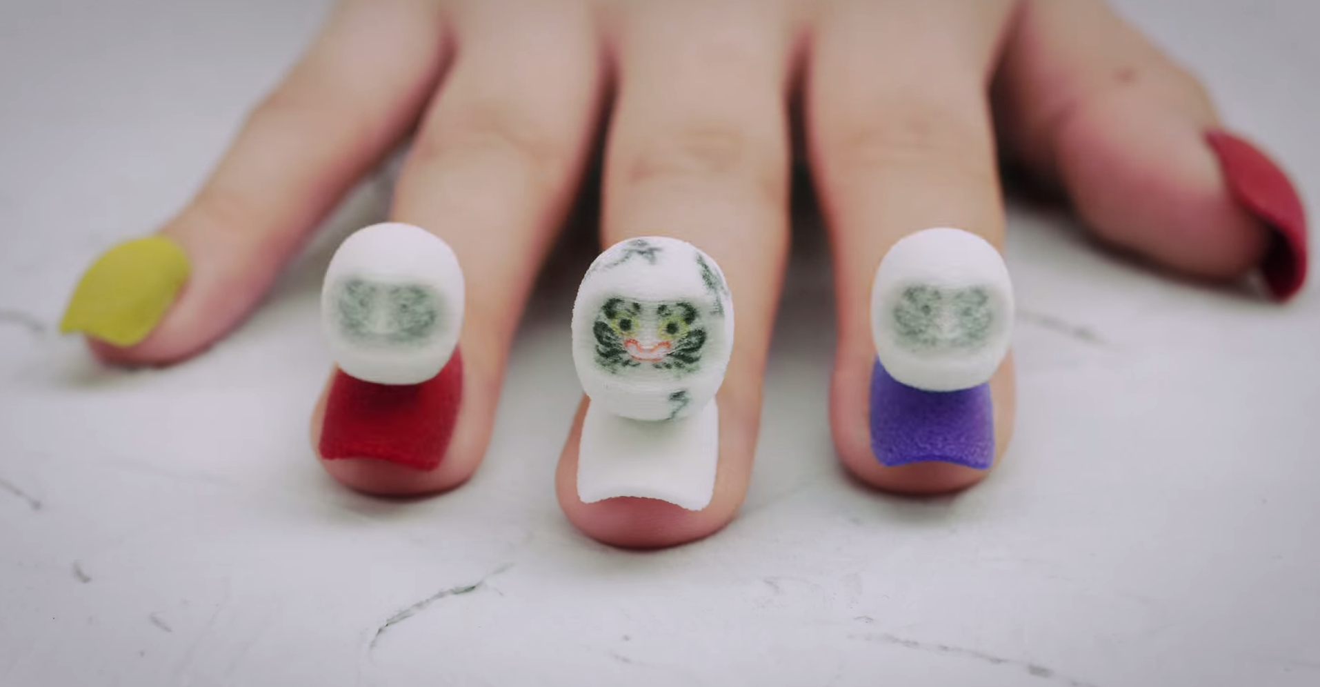 Stopmotion nail art is a sneak preview of our augmented reality