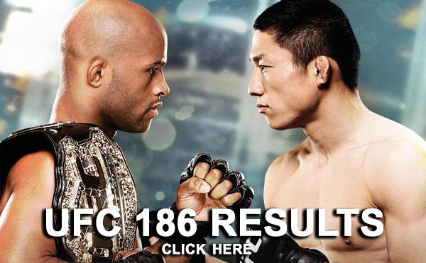UFC 186 Results