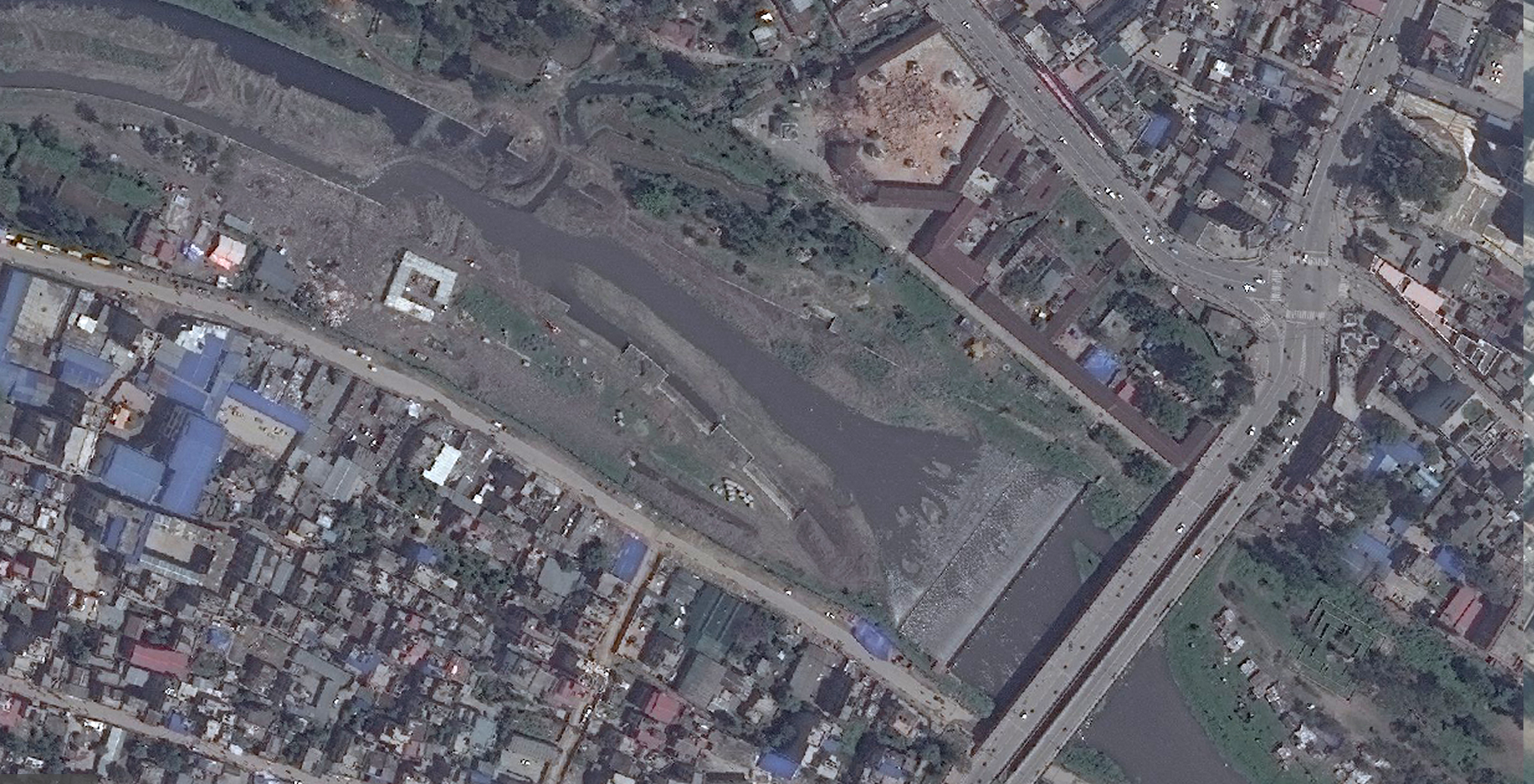 New Satellite Images Of Nepal Show Earthquakes Devastation The - Live satellite view