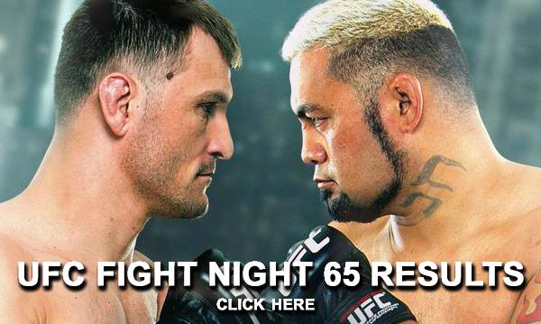 UFC Fight Night 65 Results