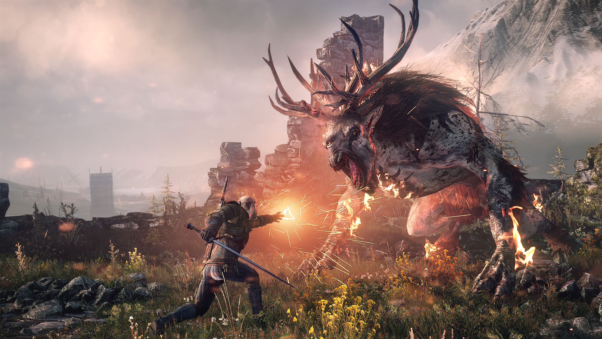 The Witcher 3 Wild Hunt is like an open world playable Game of Thrones Th