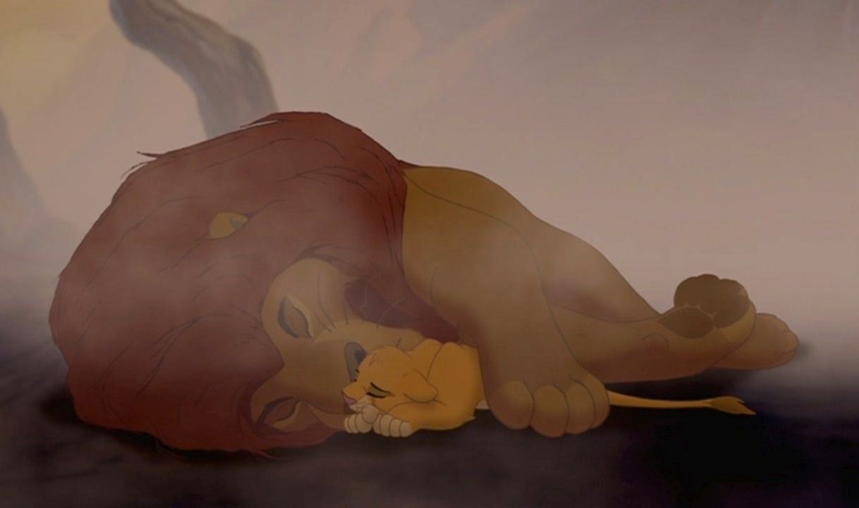 Image result for mufasa dead