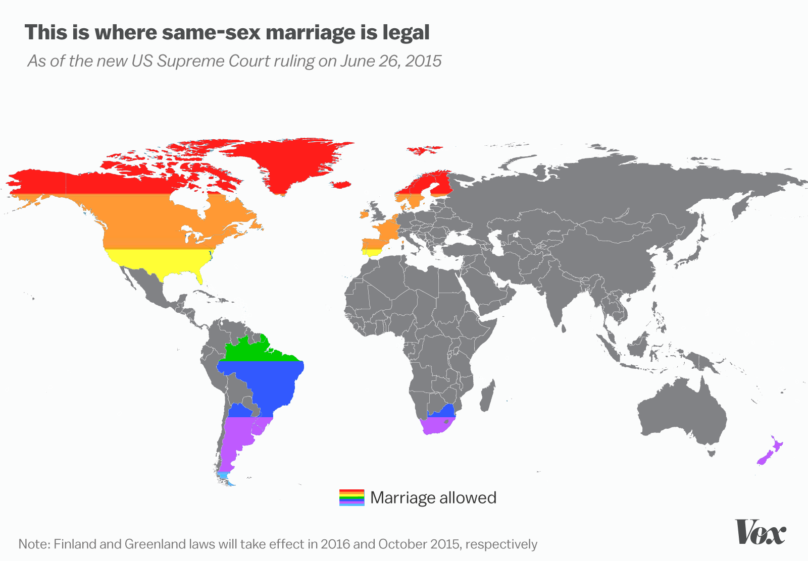 Image result for marriage equality world map