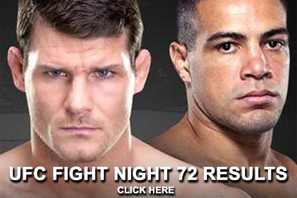 UFC Fight Night 72 Results