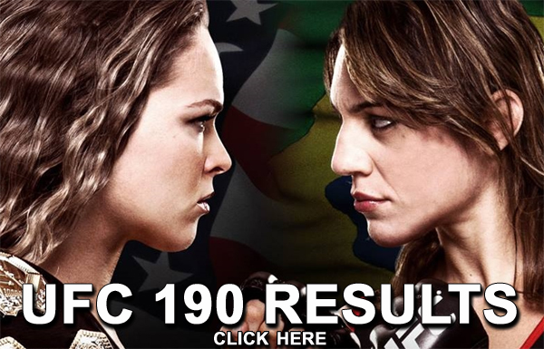 UFC 190 Results