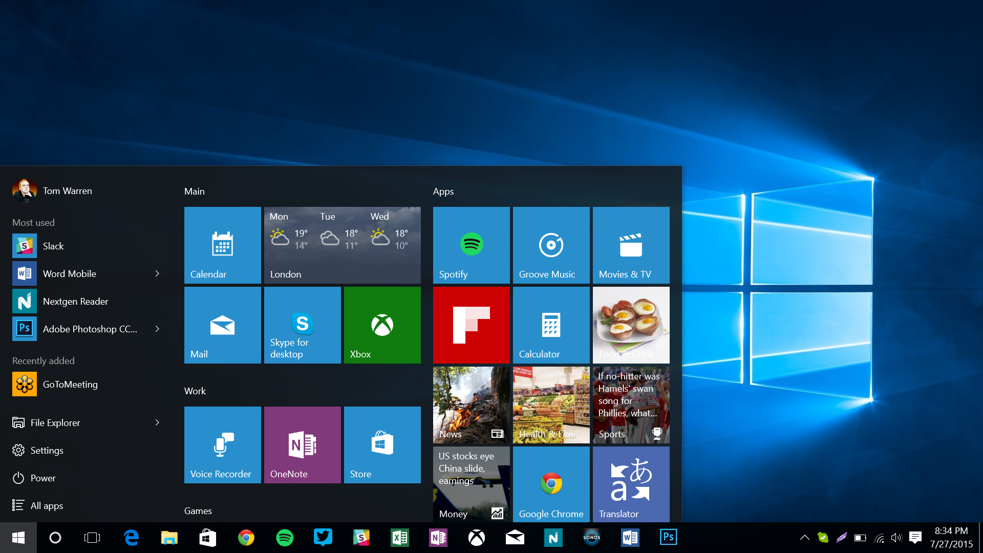 The nine most important updates in windows 10 the verge for Latest microsoft windows