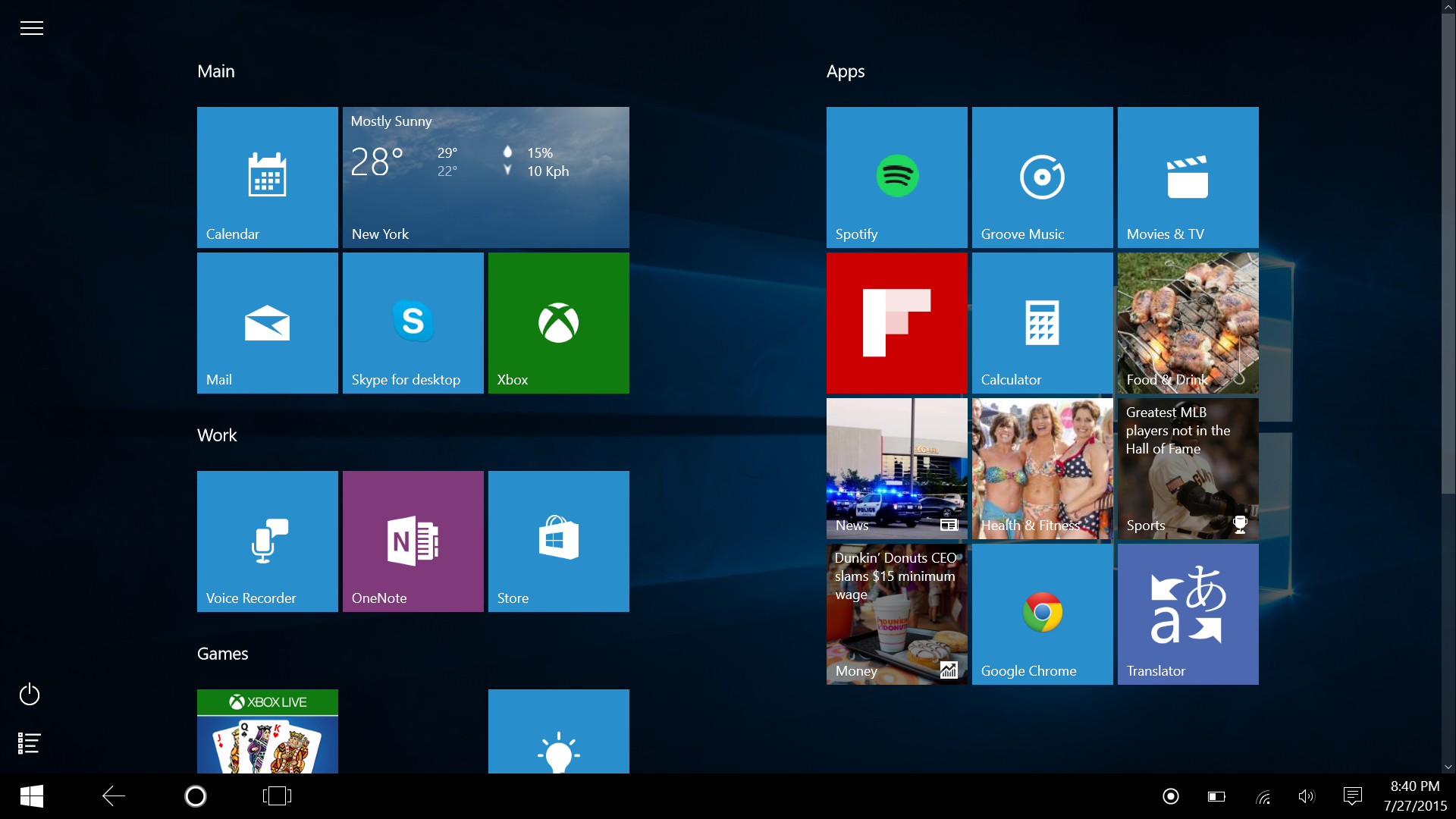 Windows 10 tablet mode: a mobile OS that stays out of your ...