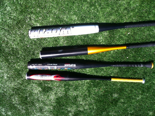 My First Swings Are With The Legal Bat I Own They Re What M Used To A Sizable Sweet Spot That Deadens Force But Also Allows For Perfect Control