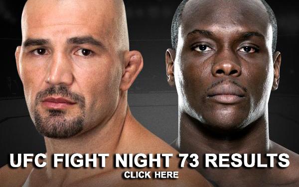UFC Fight Night 73 Results