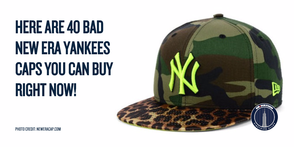 40 bad New Era Yankees caps you can buy right now - Pinstripe Alley 05d2ec26bb6