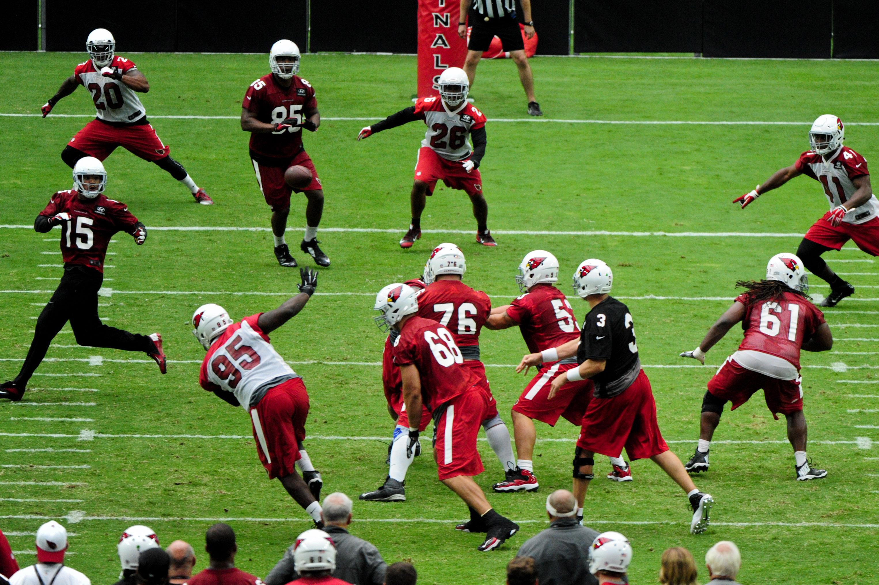 Nike jerseys for wholesale - 2015 NFL training camp: Arizona Cardinals Tuesday practice recap ...