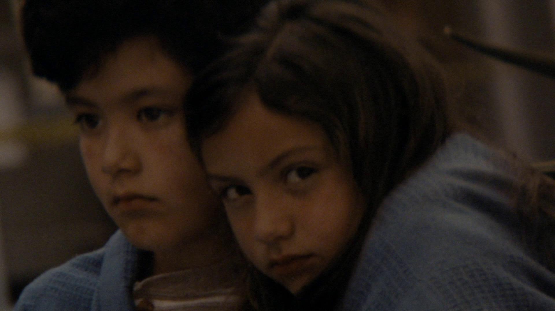 Laura and Leonard as children