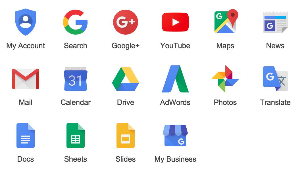 """Résultat de recherche d'images pour """"image of google logo"""""""
