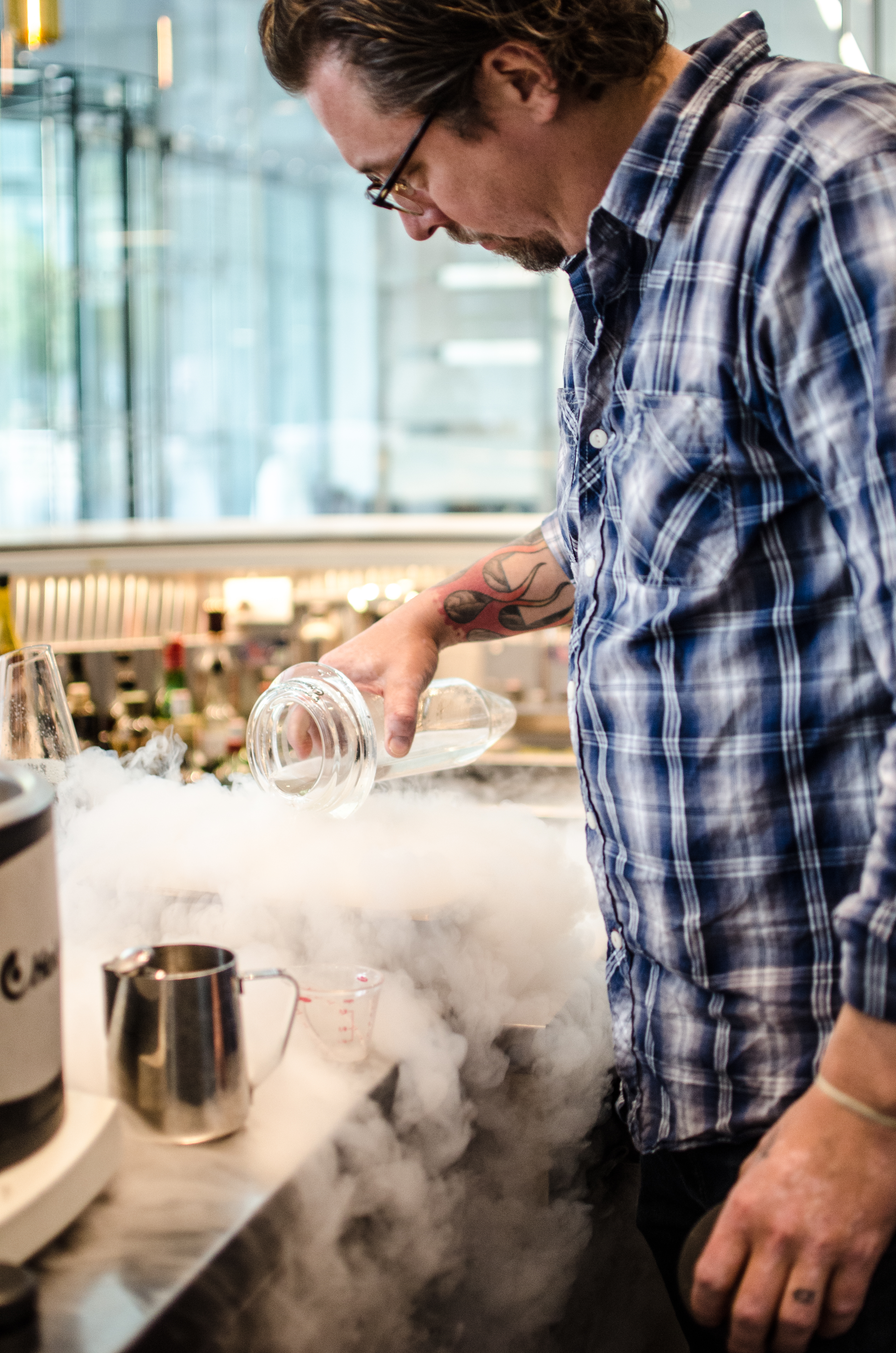 artscience liquid nitrogen